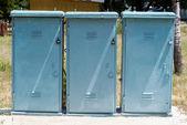 Power boxes — Stock Photo