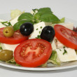 Mediterranean salad — Stock Photo #1537657