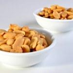 Roasted salted peanuts — Stock Photo