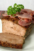 Baked meat loaf — Stock Photo