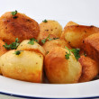 Organic parsley roasties - ストック写真