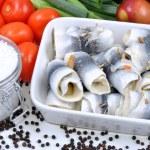 Some fresh organic rollmops — Stock Photo #1591558