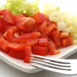 Paprika salad — Stock Photo