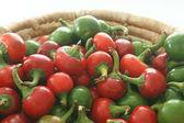 Organik kiraz kırmızı biber — Stok fotoğraf