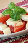 Delicious mozzarella — Stock Photo