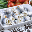 Some fresh organic rollmops — Stock Photo #1697960