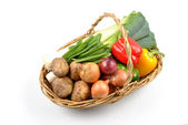 Some organic fresh vegetable — Stock Photo