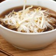 Stock Photo: Japanese style noodle soup