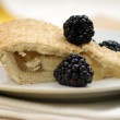 Bramley apple pie with blackberries — Stock Photo #2357639