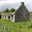 Stock Photo: Old left cottage