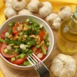 Mediterranean salad with tomato — Stock Photo