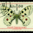 Royalty-Free Stock Photo: Vintage  postage stamp.   Butterfly 2