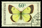 Vintage postage stamp. Butterfly 6 — Stock Photo