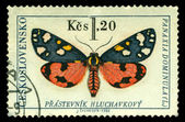 Vintage postage stamp. Butterfly 1 — Stock Photo