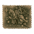 Royalty-Free Stock Photo: Postage stamp.  2,50 esc.
