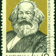 Vintage  postage stamp.  Karl Marx. — Stock Photo