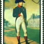 Постер, плакат: Vintage postage stamp Napoleon