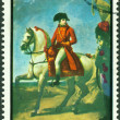 Vintage  postage stamp.   Bonaparte. 1 - Stock Photo