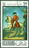 Vintage postage stamp. Bonaparte. 1 — Stock Photo