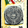 Postage stamp. Olympic games in Mexico. — Stock Photo