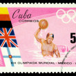 Postage stamp. Olympic games in Mexico. — Stock Photo #1946197
