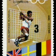 Postage stamp. Olympic games in Mexico. — Stock Photo #1946729