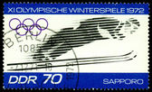 Postage stamp. Olympic games in Sapporo — Stock Photo