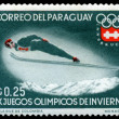 Postage stamp. Olympic games. Innsbruck — Stock Photo