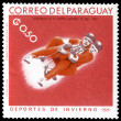 Stock Photo: Vintage postage stamp. Winter sports
