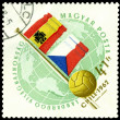 Royalty-Free Stock Photo: Postmark. World  football cup in Chile