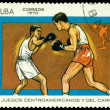 Vintage postage stamp. Sports — Stock Photo