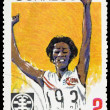 Vintage  postage stamp. Sports - Stock Photo