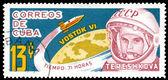 Postage stamp. Valentina Tereshkova — Stock Photo