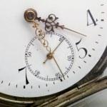 Antike Taschenuhr - antique Pocket watch — Stock Photo #1902923