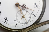 Antike taschenuhr - orologio da tasca antico — Foto Stock
