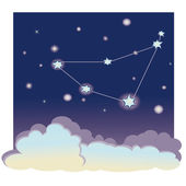 "Constellation ""Capricorn"" — Vector de stock"