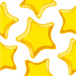 Gold stars - Stock Vector