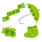 Set of icon for st. Patrick's day — Stock Vector