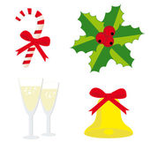 Christmas set 3 — Stock Vector