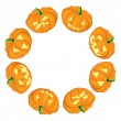 Royalty-Free Stock Vector Image: Jack-o-Lanterns frame
