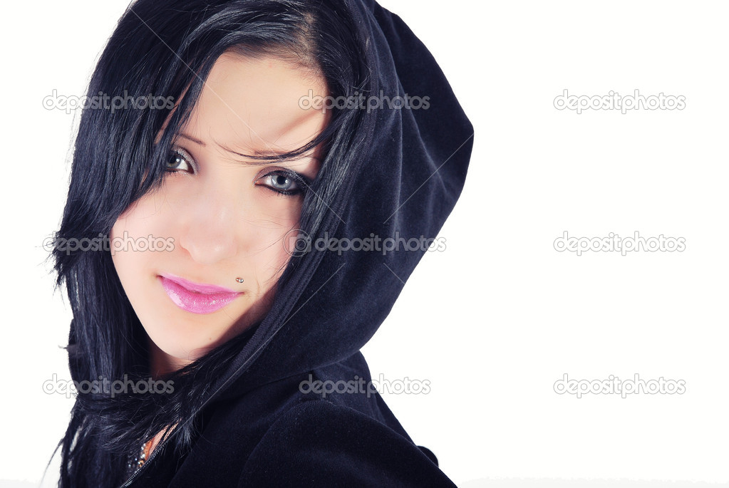 It is a portrait of beautiful girl in a sportwear — Stock Photo #1618158