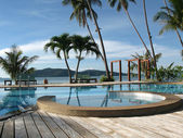 Tropisch paradijs — Stockfoto