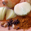 Royalty-Free Stock Photo: Spices and Onions