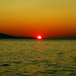 Adriatic sunset — Stock Photo
