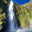 Milford sound Waterfall — Stock Photo #1572168