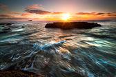 Rushing wave — Stock Photo