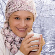 Woman in winter clothes — Stock Photo #1553921