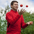 Juggling - Stock Photo