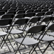 Stock Photo: Auditorium seats