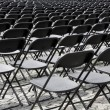Auditorium seats — Stock Photo